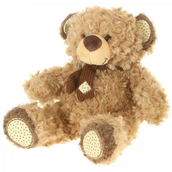 "13"" Plush Light Brown Bear"