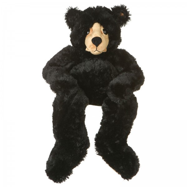 "25"" Plush Black Bear"