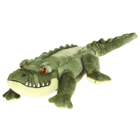"27"" Plush Green Alligator"