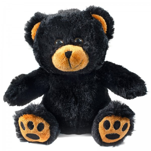"7"" Plush Black Bear"