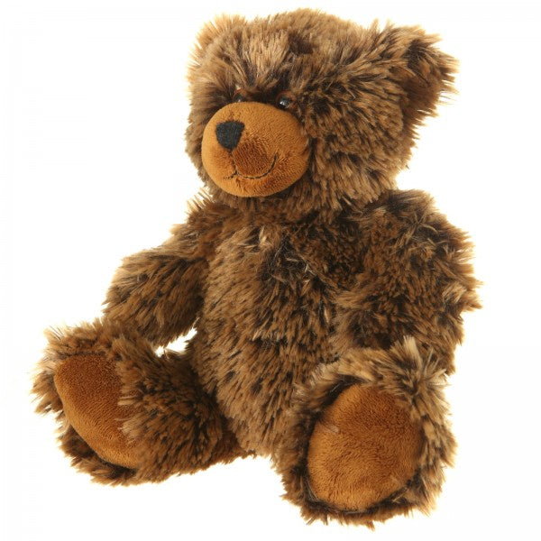 "9"" Plush Shaggy Brown Bear"