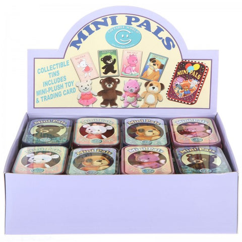 Assortment of Souvenir Tin Pet Mini Pals - Mix 1