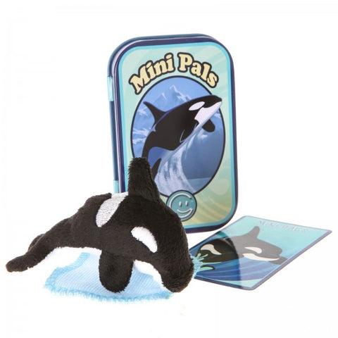 Mini Pals Orca Whale Tin