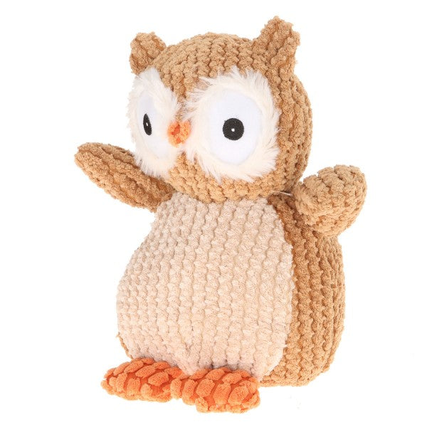 "9"" Plush Brown Nice ""N"" Knitted Owl"