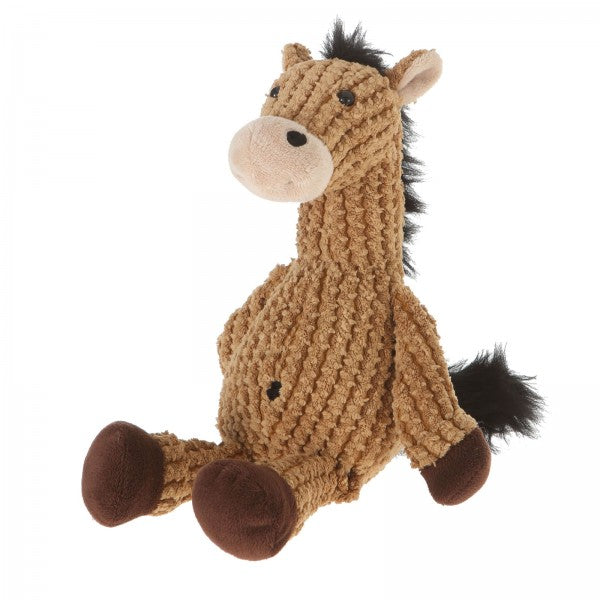 "9"" Plush Light Brown Nice ""N"" Knitted Horse"