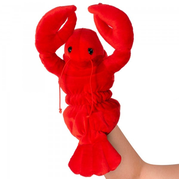 "12"" Plush Lobster hand puppet"
