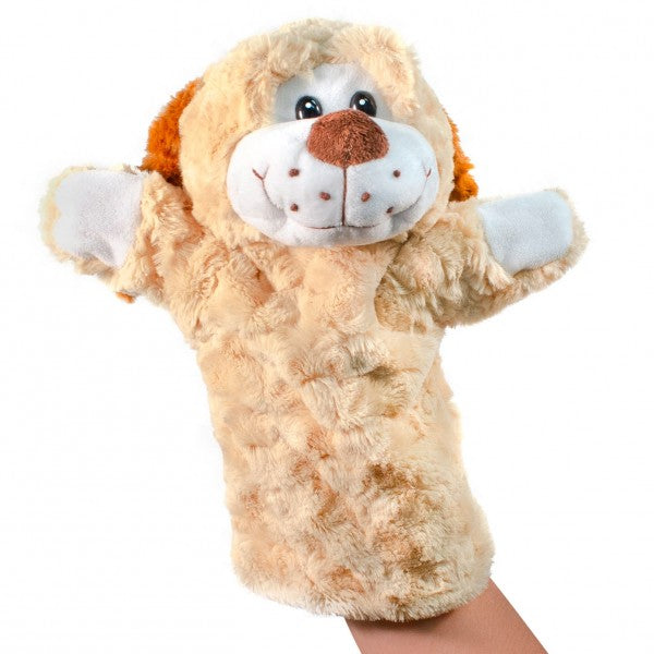 "12"" Plush Puppy hand puppet"