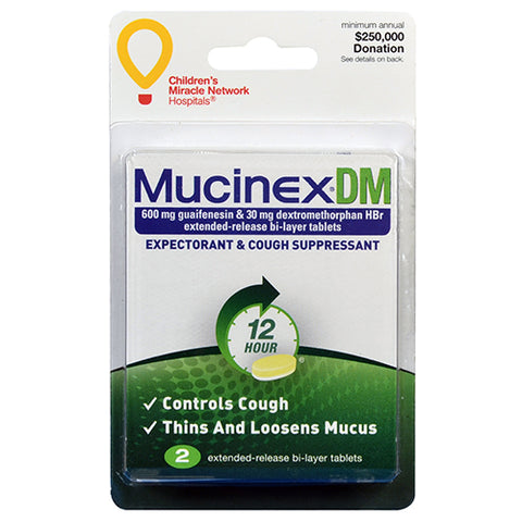 Mucinex DM Tablets (1 dose)