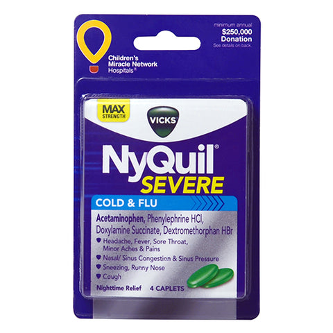NyQuil Severe Caplets