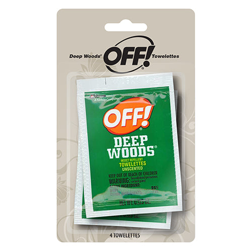 OFF! Deep Woods Towlettes