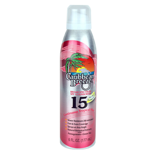 SPF 15 Continuous Tropical Mist Sunscreen
