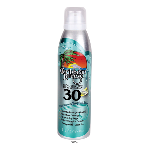 SPF 30 Continuous Tropical Mist Sunscreen