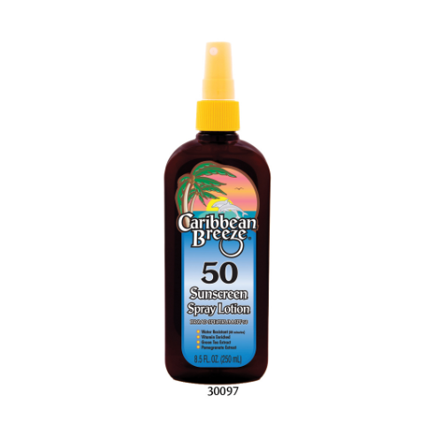 SPF 50 Sunscreen Spray Lotion