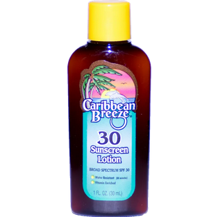 Travel Size SPF 30 Sunscreen Lotion