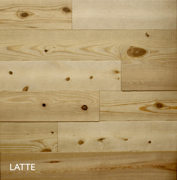 Rustic Collage Reclaimed Wood Look Solid Wood Wall Boards 12 sq ft - $5.98 per sq ft - Synergy Wood Products