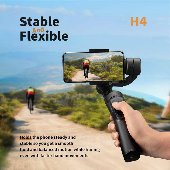 Smartphone Gimbal Stabilizer with Multiple Intelligent Controls
