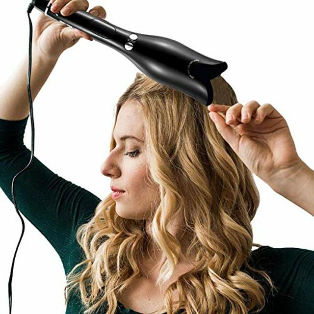 Automatic Curler, Air Spin Ceramic Rotating Hair Curler