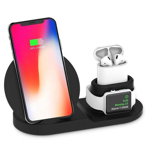 TechJets Wireless Charger 3 in 1 Station
