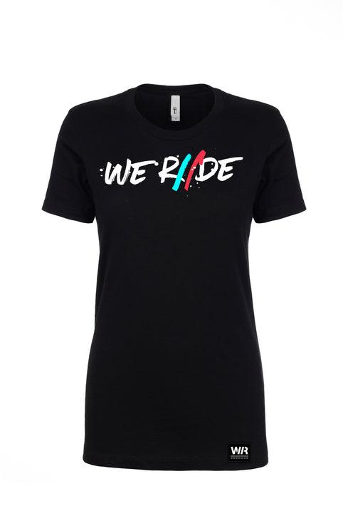 Women's We Riide Painted Tee