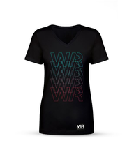 Women's Retro V-Neck