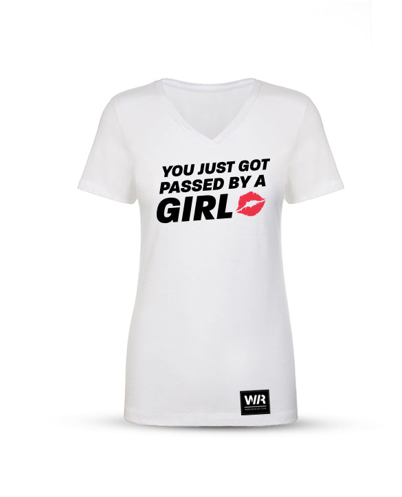 Women's Passed by a Girl V-Neck