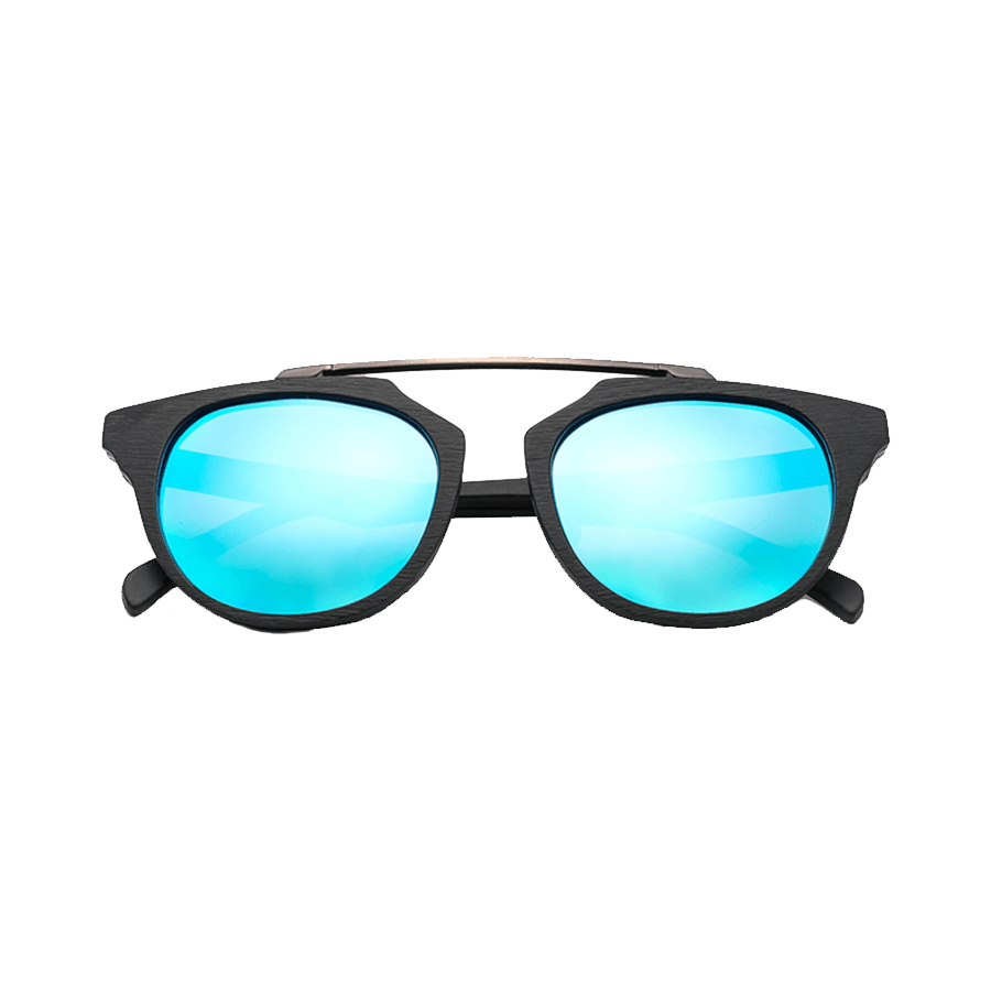 Polarized Wooden Sunglasses 02
