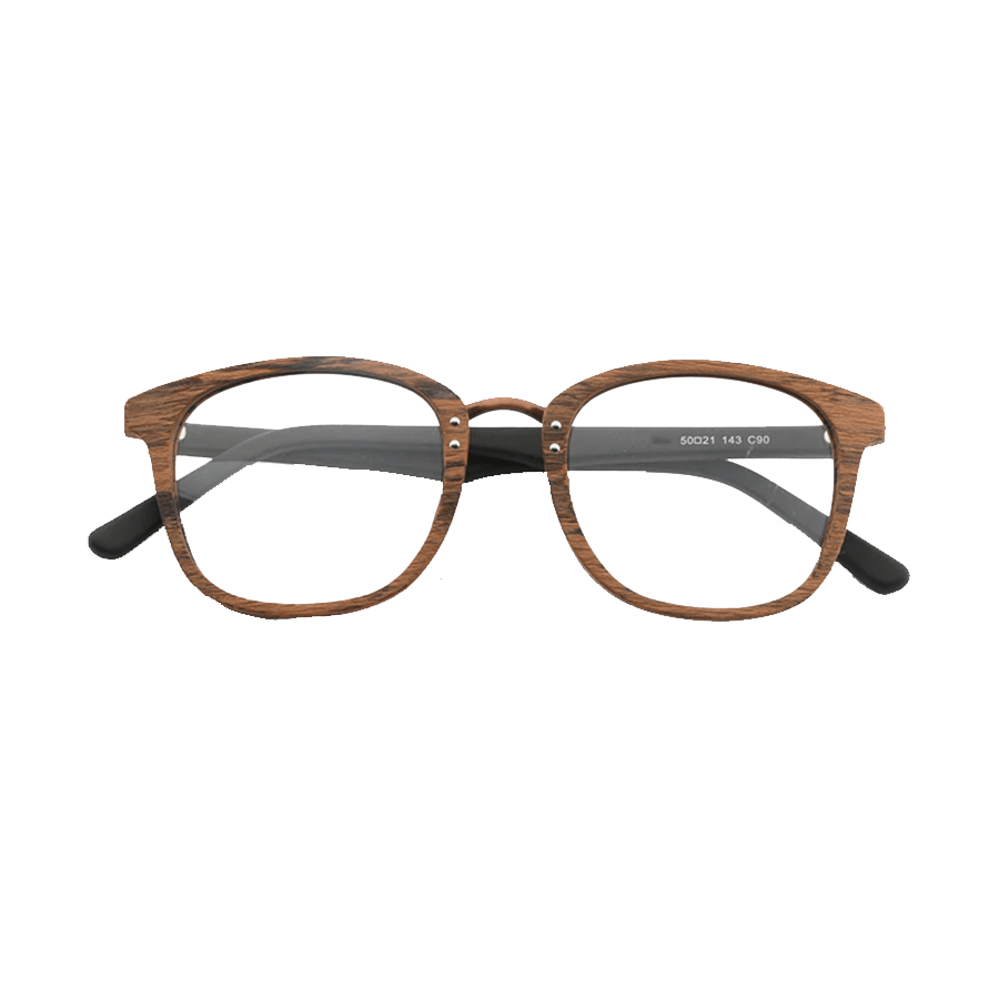Square Wooden Glasses Frame