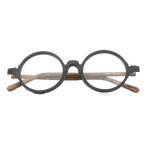Round Wooden Glasses Frame