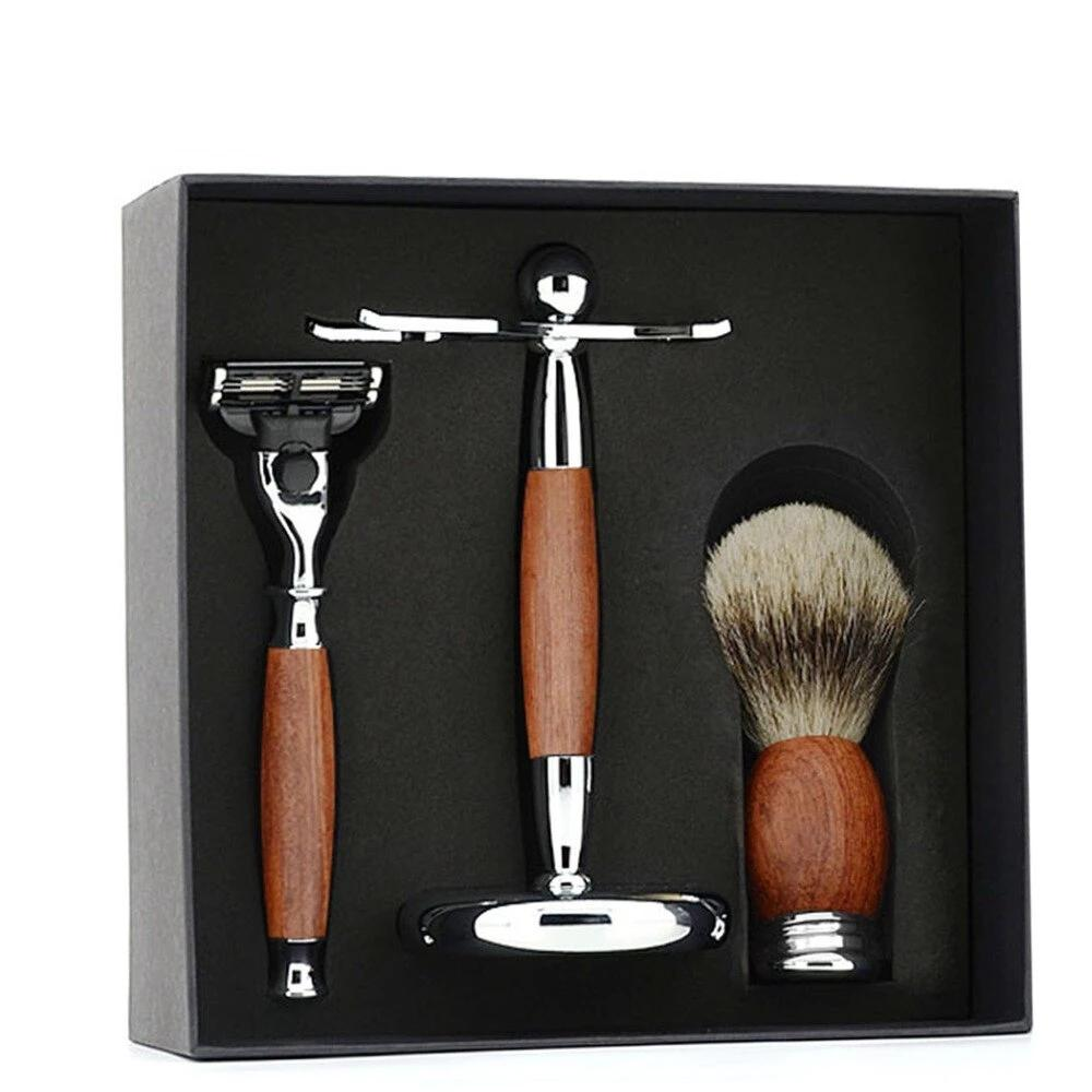 Rosewood 3 in 1 Shaving Kit