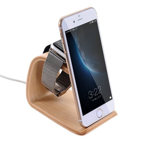 Wooden Watch / Phone Stand