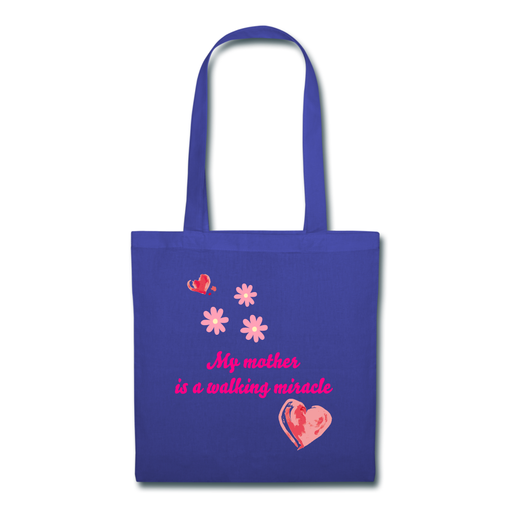 Tote Bag - royal blue