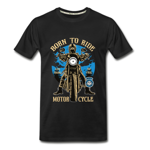 Born to Ride Organic T-Shirt - black
