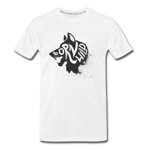 Men's Premium Organic T-Shirt - white