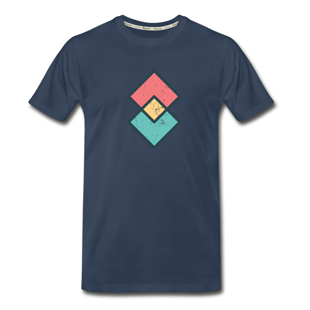 Dimond Organic T-Shirt - navy