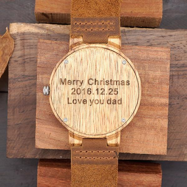 Custom your watch with a message