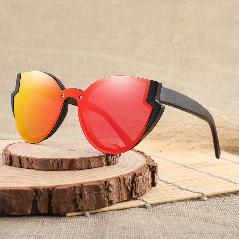 Butterfly Colorful Bamboo Sunglasses03