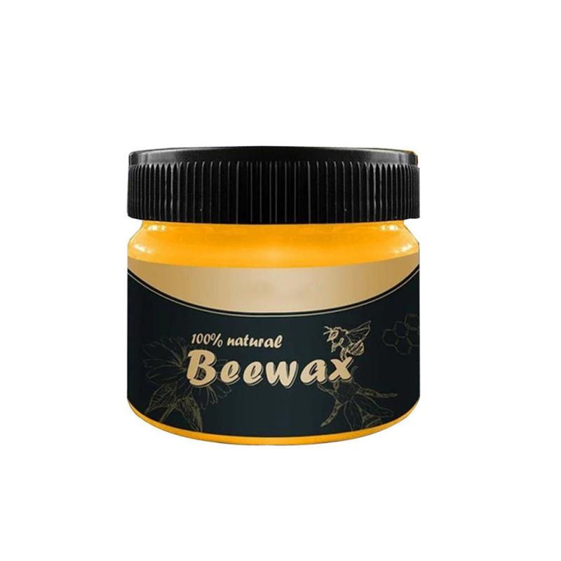 1PCS Polishing Beeswax Wood Seasoning Beewax Complete Solution Furniture Beeswax Care Chairs Cabinets Doors Waterproof Wax