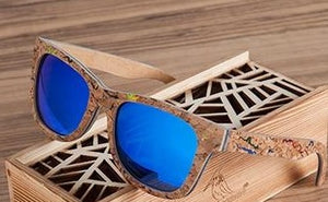 Cork Wooden Sunglasses