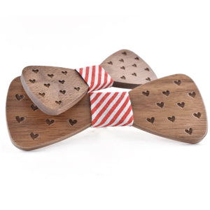 Wooden BowTie Father-Son Combo