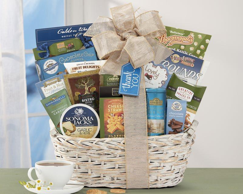 Many Thanks Gift Baskets [ Free Delivery] - Carved Nature
