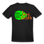 Save Earth Organic T-Shirt - black