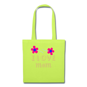 Tote Bag - lime green
