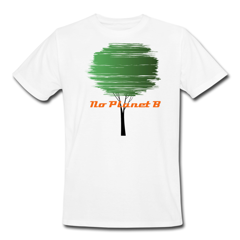 No Planet B  Organic T-Shirt - white