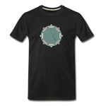 Simple Zellige Organic T-Shirt - black