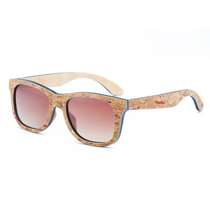 Colorful Polarized Cork Shades