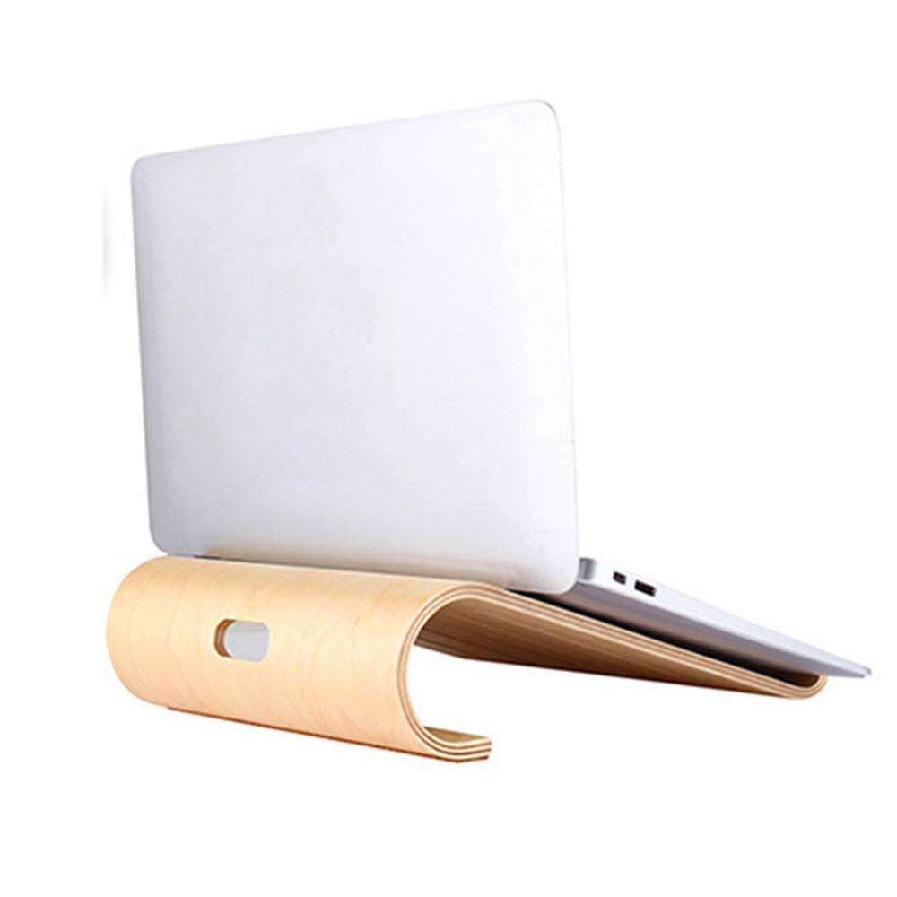 Cooling Wooden Notebook & Tablet Holder for apple product