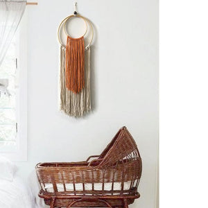 Geometry Handmade Knitting Wall Tapestry🙌 - Carved Nature