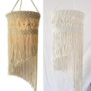 Hand-woven Chandelier - Carved Nature