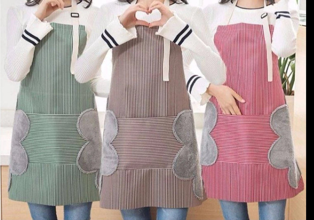 Water & Oil proof Erasable  Adult Apron (One Size)