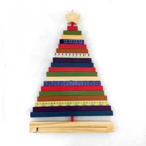 Rotating Wooden Christmas Tree
